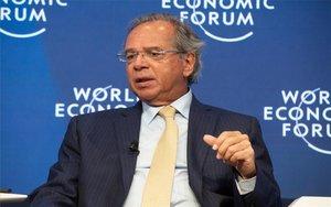 El ministro de Economía de Brasil, Paulo Guedes.