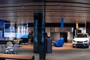 Oficina de CaixaBank renting.