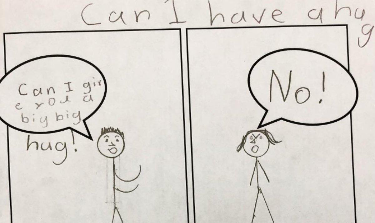 El simple esquema amb què una mestra ensenya consentiment sexual als nens
