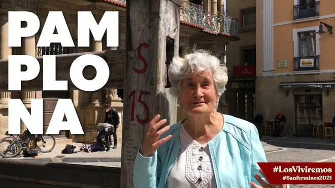 Campaña 'Los viviremos', para recordar que los Sanfermines volverán en el 2021.
