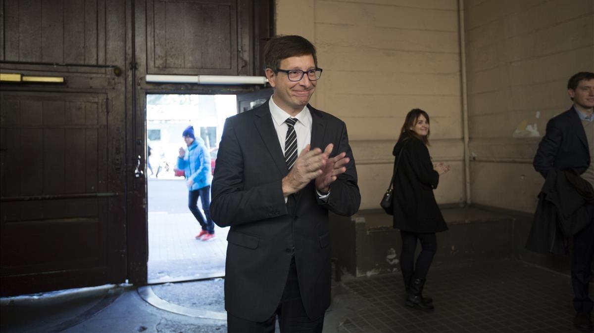 Carles Mundó, el pasado diciembre.