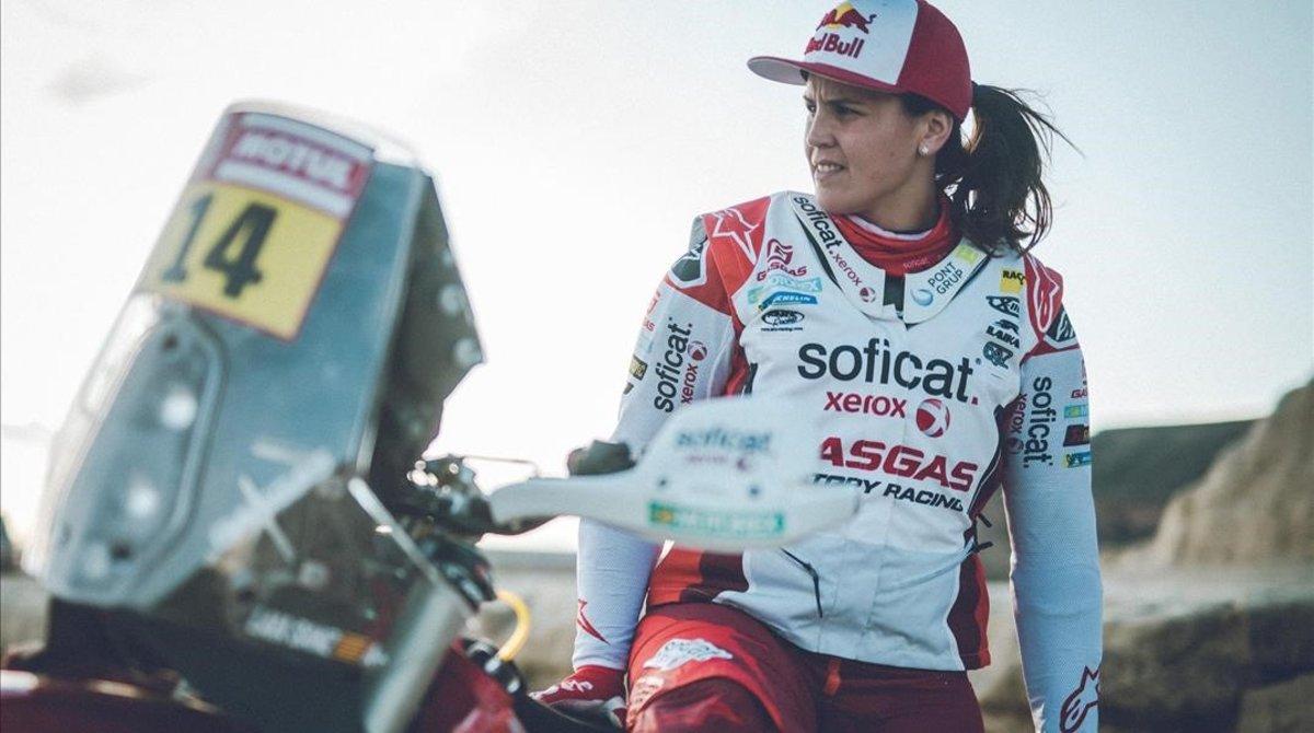 La catalana Laia Sanz intenta el '10 de 10' en el Dakar-2020 a los mandos de una Gas Gas.