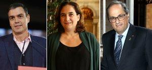 Moncloa, Parlament, Barcelona: comptes a tres bandes