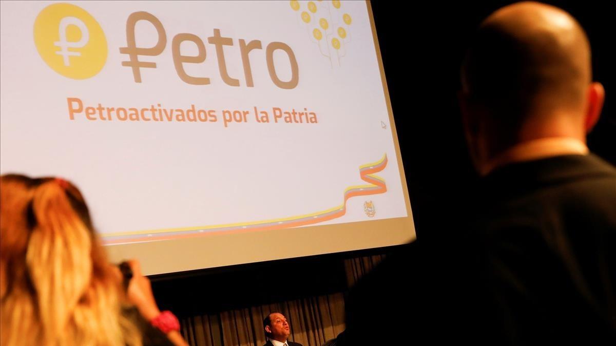 Presentación en Caracas de la criptomoneda.