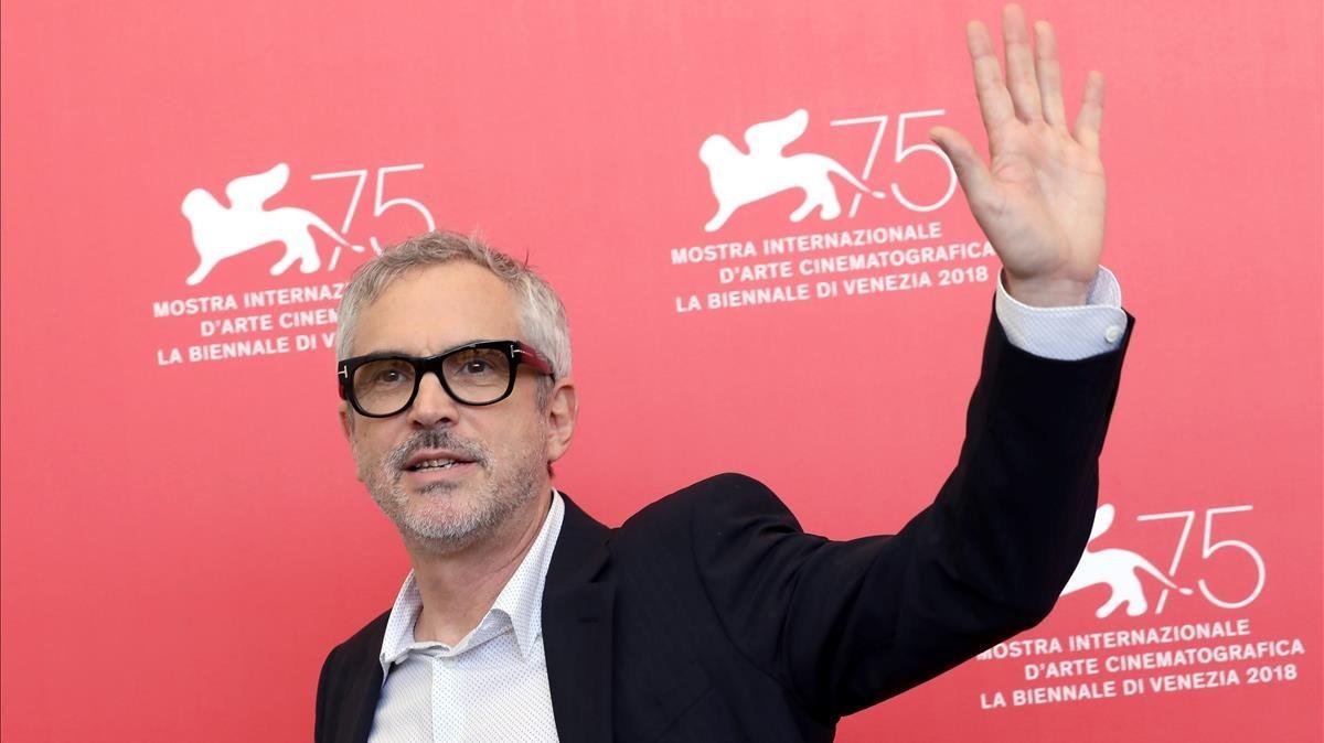 Alfonso Cuarón en el Festival de Venecia