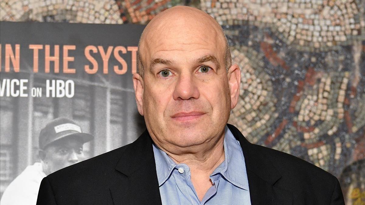 David Simon, en una imagen reciente, en Nueva York.