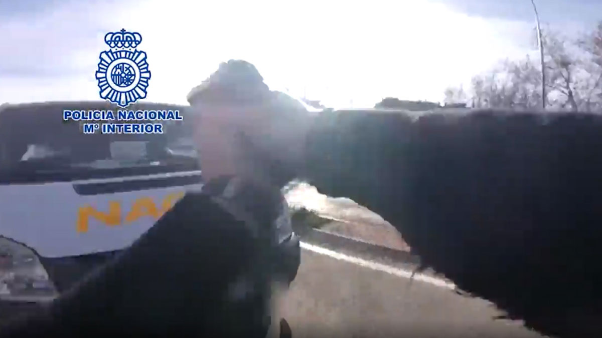 Detenido un hombre que robó una furgoneta llena de regalos en Nochebuena