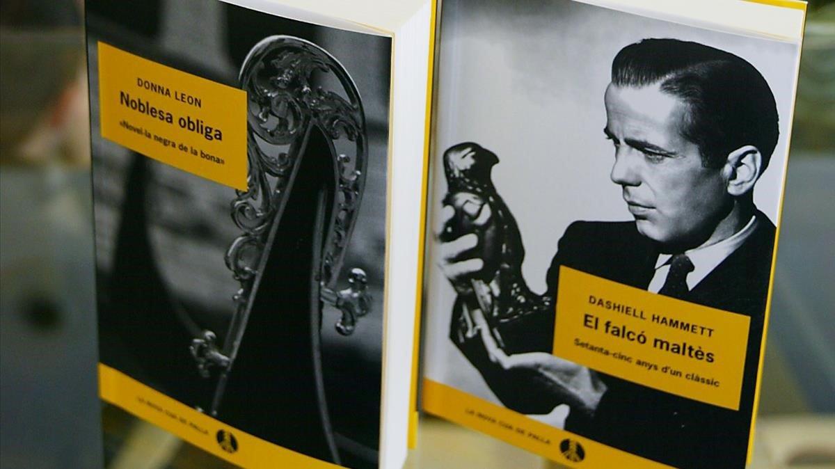 Ejemplares de nuevas ediciones de la colección La Cua de Palla.