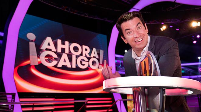 El presentador celebra el programa 1.000 de ¡Ahora Caigo!