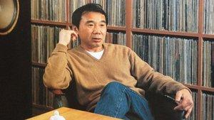 El escritor japonés superventas Haruki Murakami.