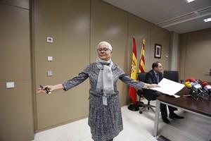 La fiscala jefa de Barcelona, Anna Maria Magaldi.