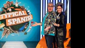 Florentino Fernández y Vicky Martín Berrocal en 'Typical spanish', de TVE-1.