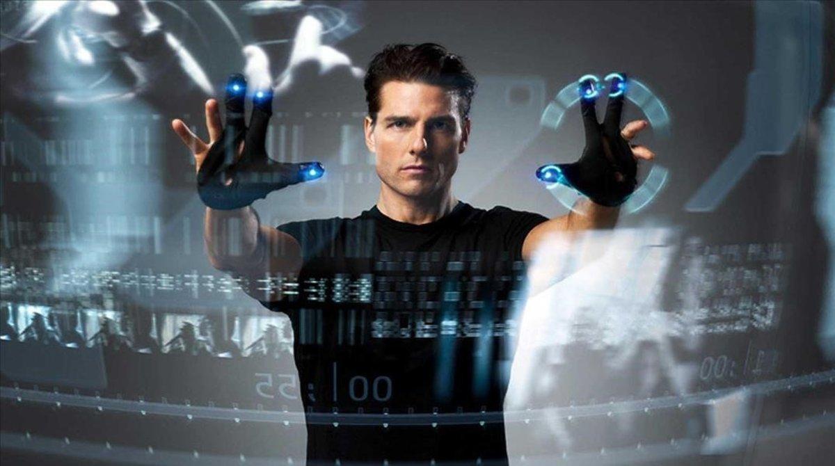 Un fotograma de la película Minority Report.
