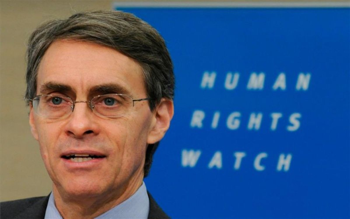 Kenneth Roth, director ejecutivo de Human Rights Watch.