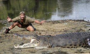 El 'caçador de cocodrils' Steve Irwin mor a Austràlia