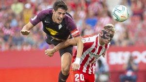 El Girona reacciona a temps i evita una ensopegada més seriosa davant de l'Sporting (1-1)
