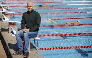 Jeremías Mateo, nadador que sufrió un accidente de montaña que le cambió la vida.
