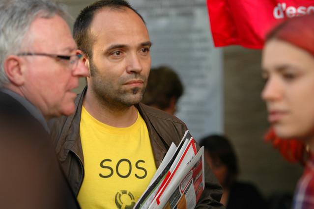 Joan Berlanga serà el candidat dICV Sabadell per a les eleccions municipals de 2015.