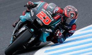 El joven francés Fabio Quartararo, de 20 años, ha demostrado hoy, en Japón, que puede ganar, por fin, en MotoGP.