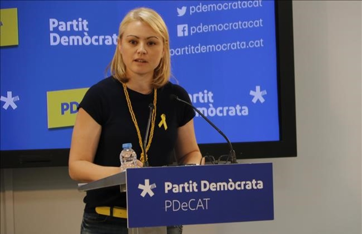 La portavoz del PDECat,Maria Senserrich.