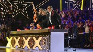 El jurado de la quinta edición de 'Got Talent' .