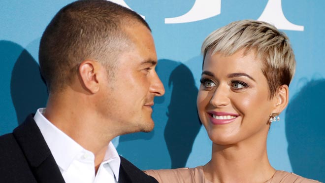 Katy Perry y Orlando Bloom anuncian que se casan.