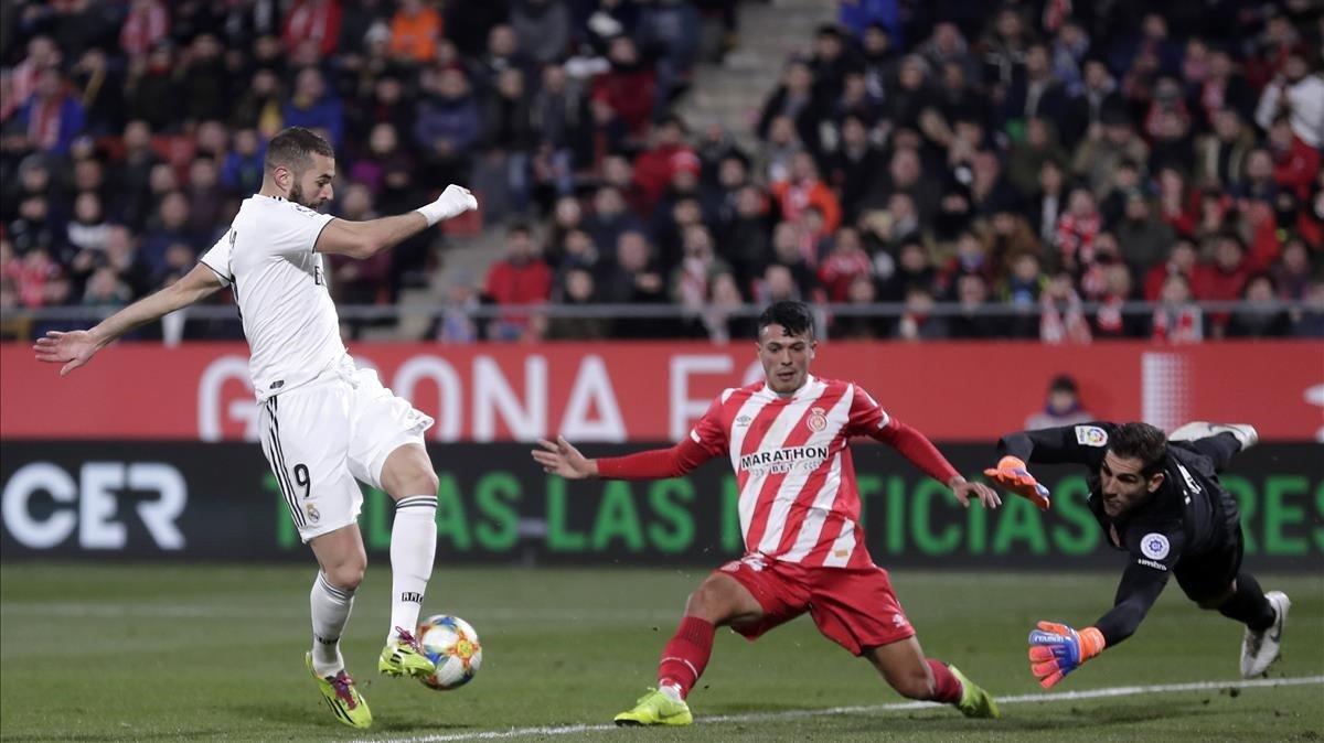 El Madrid no dona opció al Girona