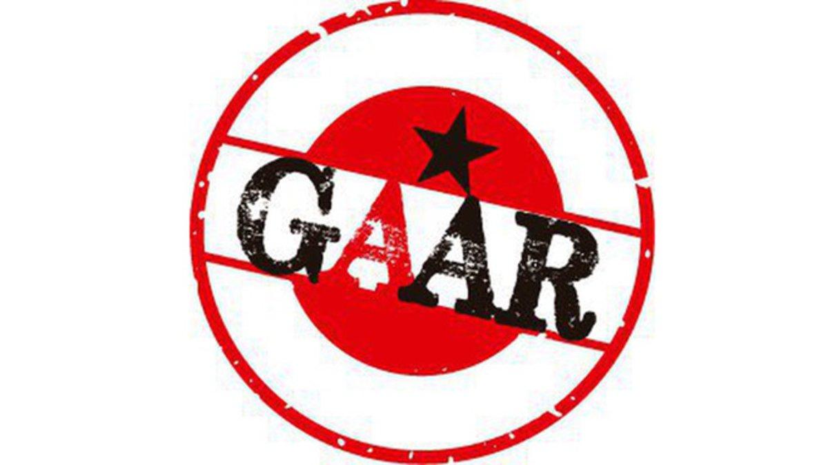 Logo de los Grups Autònoms dAccions Ràpides (GAAR).