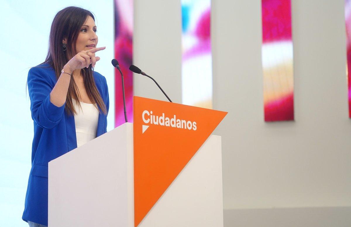 Lorena Roldán, portavoz nacional de Ciudadanos.