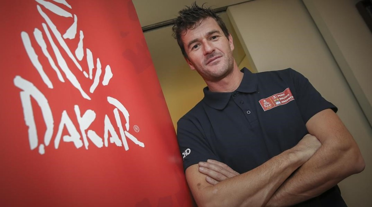 Marc Coma, ganador de cinco ediciones del Dakar en moto, diseñador del recorrido de este año.