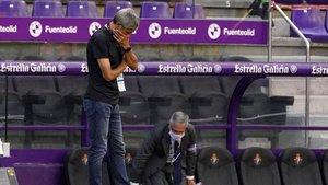 Setién: «Hi havia cansament, segurament Messi també ha de descansar»