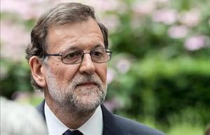 Mariano Rajoy, en una cumbre de la UE en Bruselas.