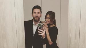 Messi y su mujer, Antonella, en una imagen de Instagram.