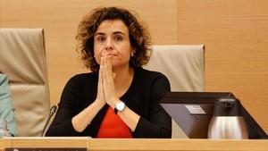 La ministra de Sanidad, Dolors Monserrat.
