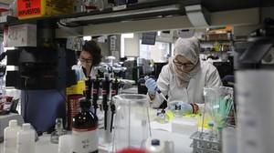 Laboratorio de IsGlobal en Barcelona, donde se realizan las comprobaciones de las autopsias de Maputo.