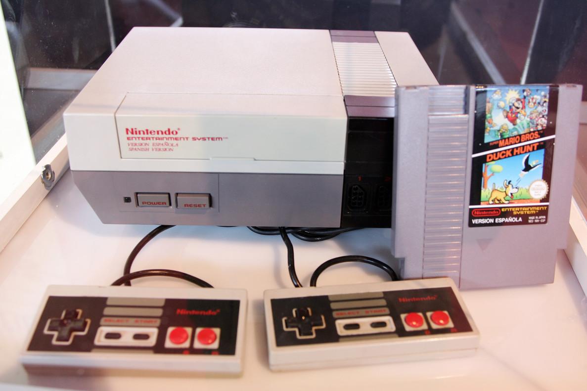 La Nintendo NES original.