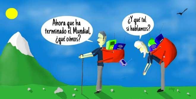 El humor gráfico de Juan Carlos Ortega del 16 de Julio del 2018