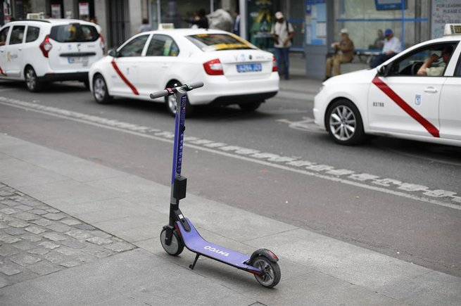 Una inspecció de l'Ajuntament de Madrid revela que els patinets elèctrics incompleixen la normativa