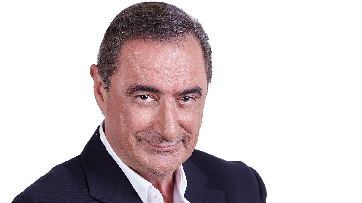 El periodista Carlos Herrera.
