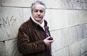 El Premio Nobel de la Paz, Ahmed Galai, en el Raval de Barcelona.