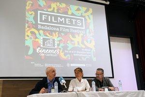 Presentación de la 45ª edición del festival de cine Filmets en Sant Boi de Llobregat.