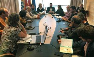 Presentación de los presupuestos municipales 2019 de Badalona.