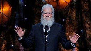 El presentador norteamericano David Letterman.