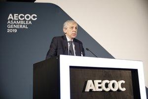 El presidente de la Asociación de Empresas del Gran Consumo (Aecoc), Javier Campo.