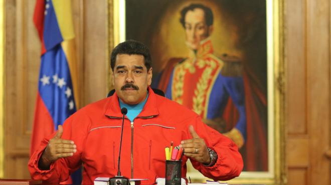 Compareixença del presidentde Veneçuela, Nicolás Maduro, per valorar els resultats de les eleccions legislatives.