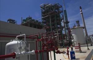 Refinería de Repsol en Cartagena.