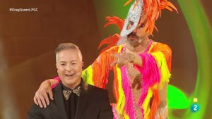 Roberto Herrera y Santi Millán en la gala Drag del carnaval de Las Palmas.