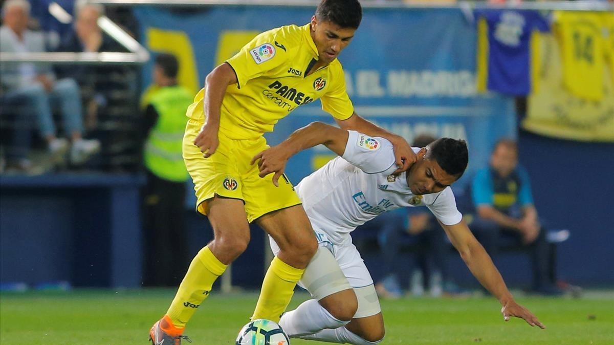 Rodri pelea con Casemiro en el duelo con el Madrid que cerró la Liga