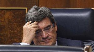 El ministro de Inclusión,Seguridad Social y Migraciones, José Luis Escrivá