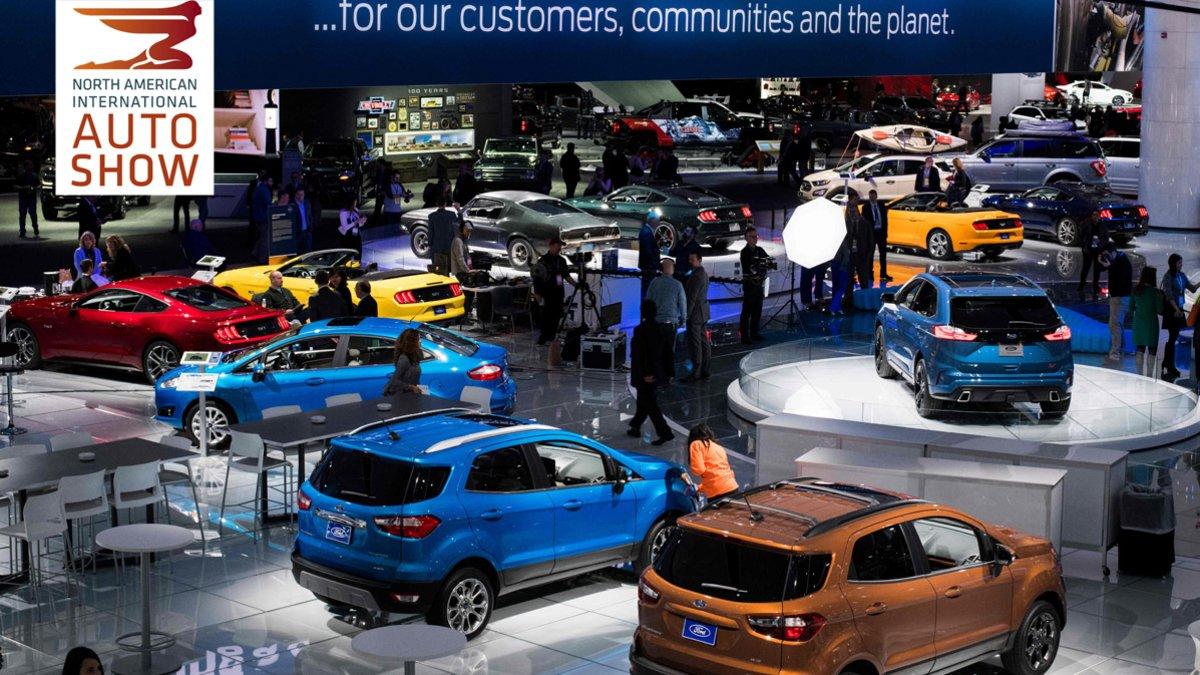 Salón del automóvil de Detroit de 2019.